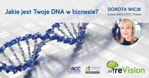 Jakie jest Twoje DNA w biznesie? ZBUDUJ SWOJĄ KARIERĘ Z FRIS®  (3.EDYCJA FESTIWAL FRIS® )