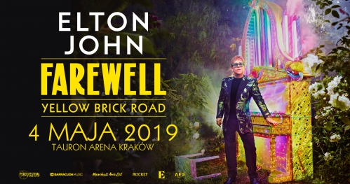 Elton John - Farewell Yellow Brick Road - 4 maja 2019 Kraków