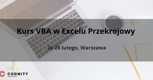 Kurs VBA (Kurs Visual Basic for Applications) w Excelu Przekrojowy - Warszawa