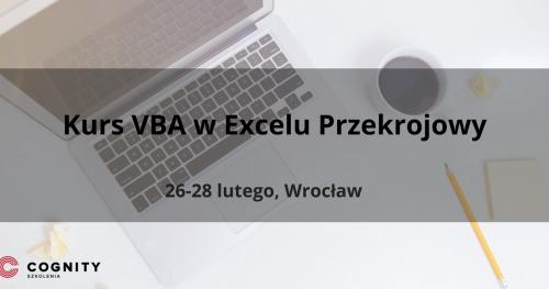 Kurs VBA (Kurs Visual Basic for Applications) w Excelu Przekrojowy - Wrocław