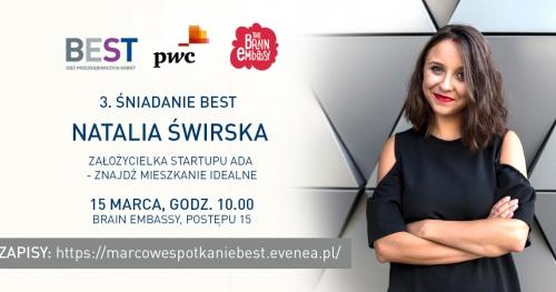 Marcowe spotkanie networkingowe BEST Sieci Przedsiębiorczych Kobiet dla studentek i doktorantek