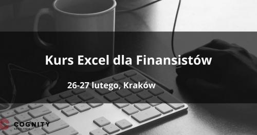 Kurs Excel dla Finansistów i Księgowych w Cognity