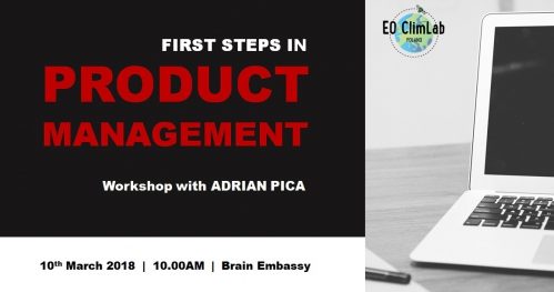First Steps in Product Management
