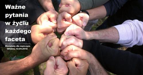 Warsztaty dla mężczyzn - Ważne pytania w życiu każdego faceta
