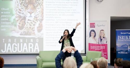 Odkryj swoją moc - trening jaguara z Dagmarą Gmitrzak
