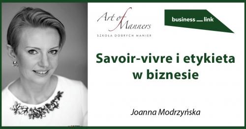 Savoir-vivre i etykieta w biznesie