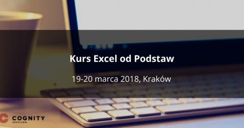 Kurs Excel od Podstaw - Kraków