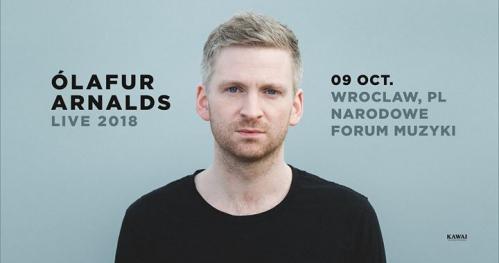 Ólafur Arnalds - Narodowe Forum Muzyki, Wroclaw