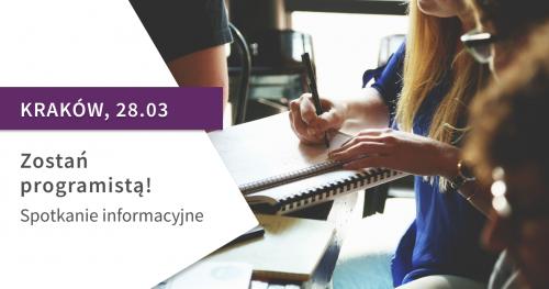 Zostań programistą! Spotkanie informacyjne St@rt IT w Krakowie