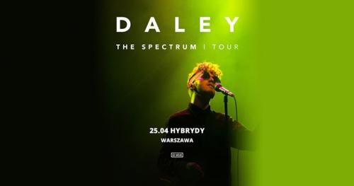 Daley | Warszawa, Hybrydy 25/04/18