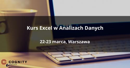 Kurs Excel w Analizach Danych - Warszawa