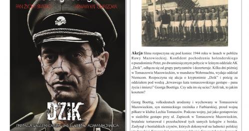 """Wieczór z Łódzkimi Żołnierzami AK - projekcja nowego filmu """"Dzik"""" i dyskusja z udziałem twórców."""
