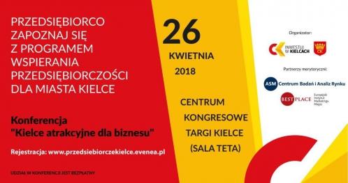 KIELCE ATRAKCYJNE DLA BIZNESU. Prezentacja Programu wspierania przedsiębiorczości dla Miasta Kielce
