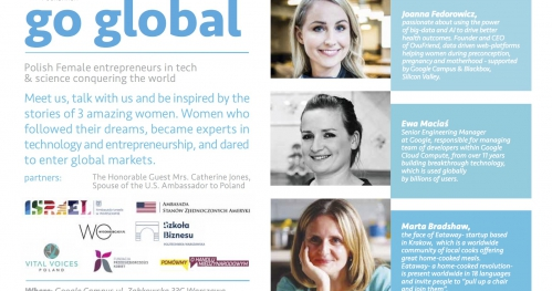Go Global- Polish female entrepreneurs in tech & science conquering the world