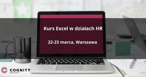 Kurs Excel w działach HR - Warszawa