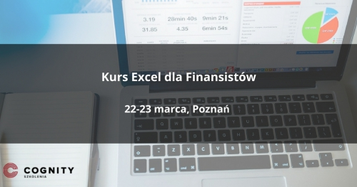 Kurs Excel dla Finansistów w Cognity - Poznań