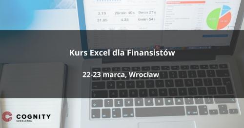 Kurs Excel dla Finansistów w Cognity - Wrocław