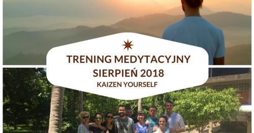 Trening Medytacyjny w Tajlandii - 28.07-12.08.2018