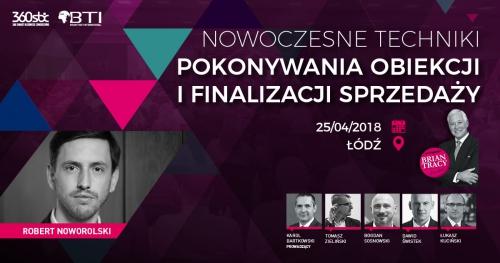 NOWOCZESNE TECHNIKI POKONYWANIA OBIEKCJI I FINALIZACJI SPRZEDAŻY - Łódź