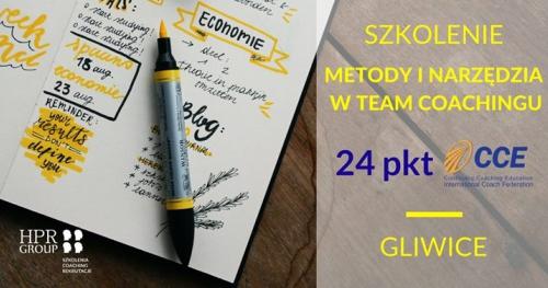 Szkolenie: Metody i narzędzia w team coachingu-Gliwice - 24 CCE