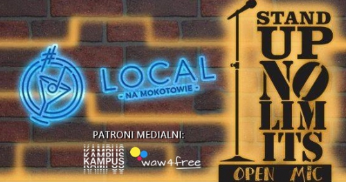 Stand-up No Limits: Open Mic (26.04)