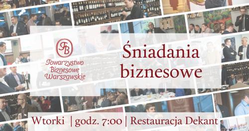 Kwietniowe spotkania Towarzystwa Biznesowego Warszawskiego dla Gości - wtorek