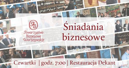 Kwietniowe spotkania Towarzystwa Biznesowego Warszawskiego dla Gości - czwartek