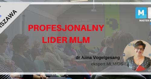 WARSZTATYProfesjonalny Lider MLM- III edycja  z dr A. Vogelgesang