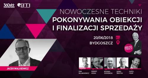 NOWOCZESNE TECHNIKI POKONYWANIA OBIEKCJI I FINALIZACJI SPRZEDAŻY - Bydgoszcz