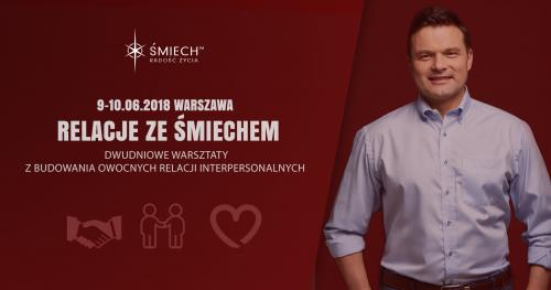Relacje ze Śmiechem w Warszawie (9-10.06.2018)