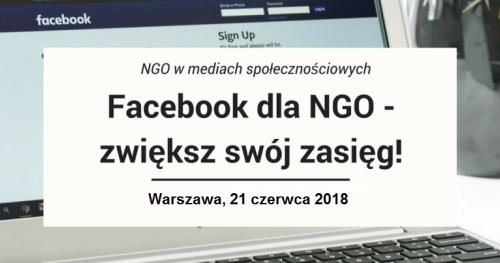 Skuteczny Facebook dla NGO