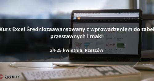 Kurs Excel Średniozaawansowany - Rzeszów