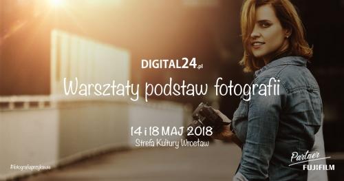 Warsztaty - podstawy fotografii Wrocław