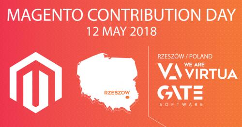 Magento Contribution Day Rzeszów - 12.05.2018