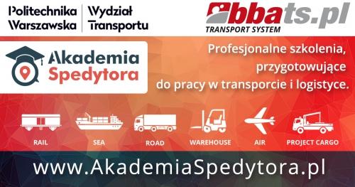 Akademia Spedytora - Cykl szkoleń przygotowujący do pracy w transporcie i logistyce.