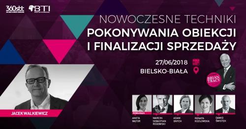 NOWOCZESNE TECHNIKI POKONYWANIA OBIEKCJI I FINALIZACJI SPRZEDAŻY - Bielsko-Biała