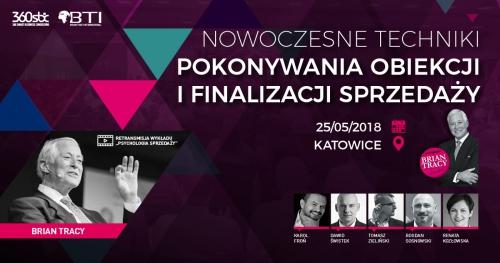 NOWOCZESNE TECHNIKI POKONYWANIA OBIEKCJI I FINALIZACJI SPRZEDAŻY - Katowice/Chorzów