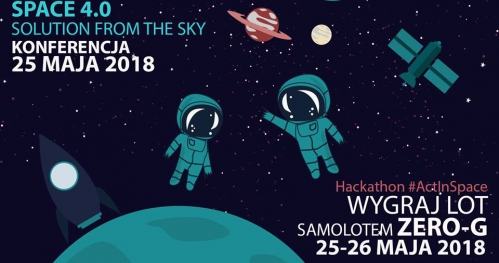 Konferencja: Space 4.0: Solution from the sky + Hackathon ActInSpace