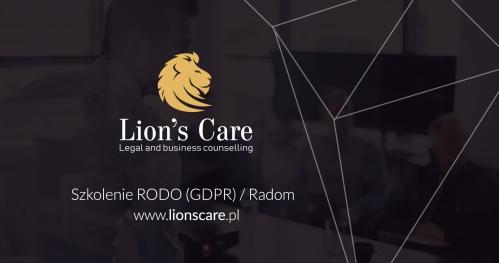 Szkolenie RODO (GDPR) / Radom