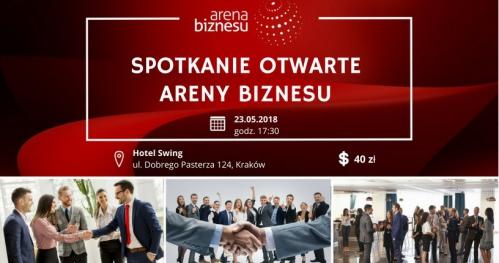 23.05.2018 Spotkanie Otwarte Areny Biznesu