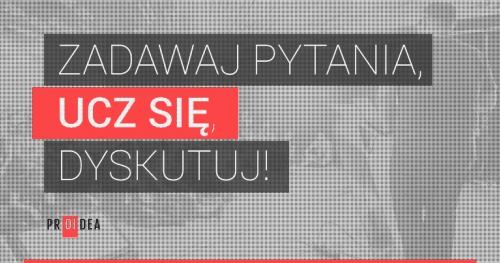 """Webinaria PROIDEA: Radosław Maziarka """"CQRS w 4 krokach"""""""