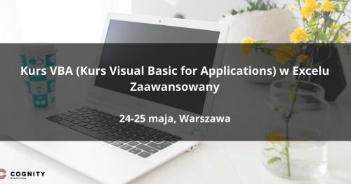 Kurs VBA w Excelu Zaawansowany w Cognity - Warszawa