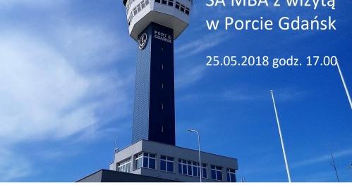 Stowarzyszenie Absolwentów MBA z wizytą w Porcie Gdańsk