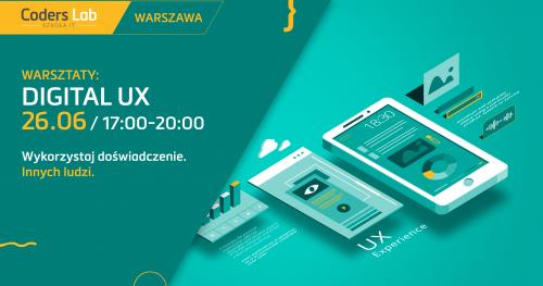 Warsztaty Digital UX w Warszawie