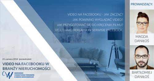 Video na Facebooku w branży nieruchomości