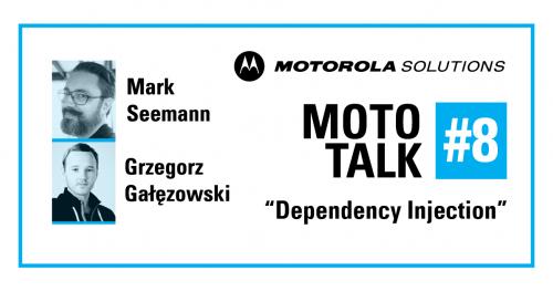 "MotoTALK #8 with Mark Seemann: ""Dependency Injection"""