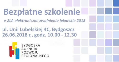 """Bezpłatne szkolenie pt. """"e-ZLA elektroniczne zwolnienia lekarskie 2018"""""""