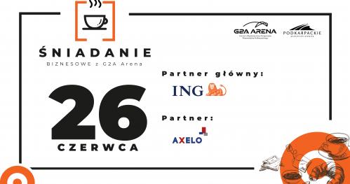 Śniadanie Biznesowe z G2A Arena - ING