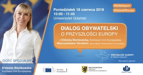 Dialog Obywatelski z Elżbietą Bieńkowską