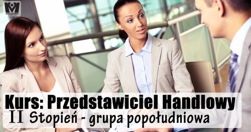 Kurs: Przedstawiciel Handlowy II Stopień - grupa popołudniowa